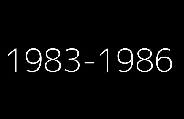 1983to1986